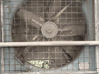 photo detail of industrial fan