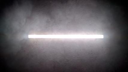 Fluorescent lamp.
