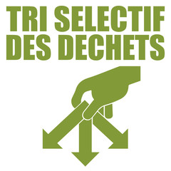 Logo tri sélectif.