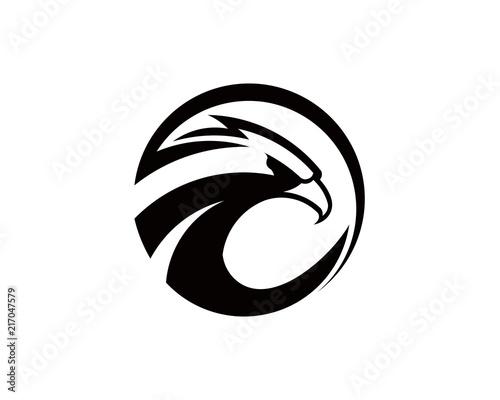 Eagle Bird Logo Vector Template  Business Logo Concept