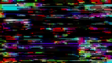 Glitch effect. Computer screen error. Error Video. Abstract Digital Pixel Noise. TV signal fail. Glitch background.