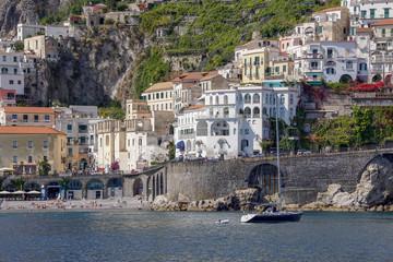 Amalfi Italy Coasline