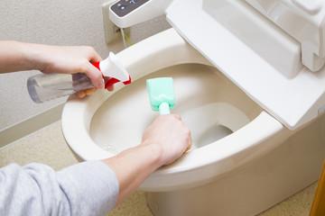 トイレそうじ