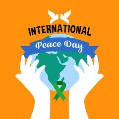International day of peace illustration