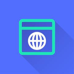 Browser vector icon.