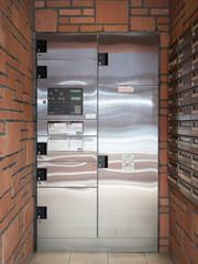 Fototapete - マンションの宅配ボックス
