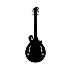 Mandola, fretted, a stringed musical instrument
