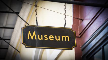 Schild 346 - Museum