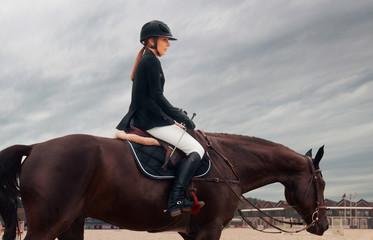 Equestrian sport Fototapete
