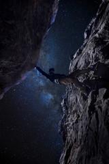 Zu den Sternen klettern