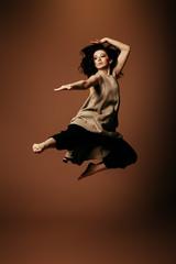 beautiful dance leap