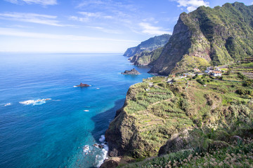 Coastline near Santana, Madeira, Portugal