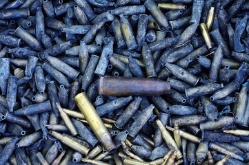 bullet shell background group objects