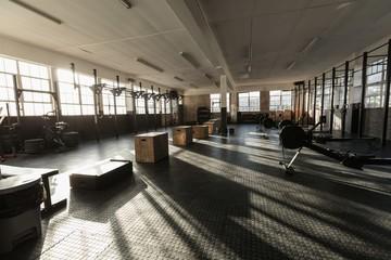 Interior of a fitness studio