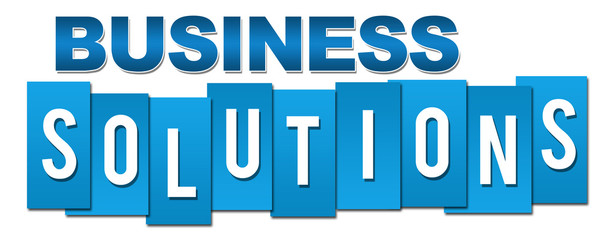 Business Solutions Professional Blue