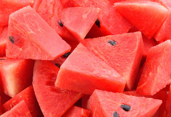 Fresh watermelon, sweet red