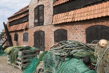 Insel Fehmarn-Altes Fischerhaus in Burg auf Fehmarn