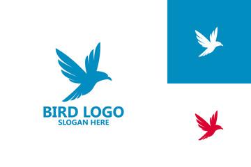Bird Logo Template Design Vector, Emblem, Design Concept, Creative Symbol, Icon