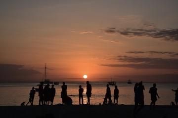 Sansibar Zanzibar Sunset