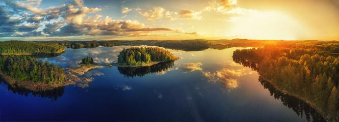 Abendsonne am See