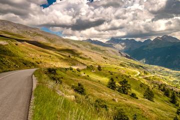 Alpenstraße Frankreich, Route des Grandes Alpes Fototapete
