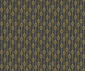 Texture golden pattern art deco. Simple gold ornament background.