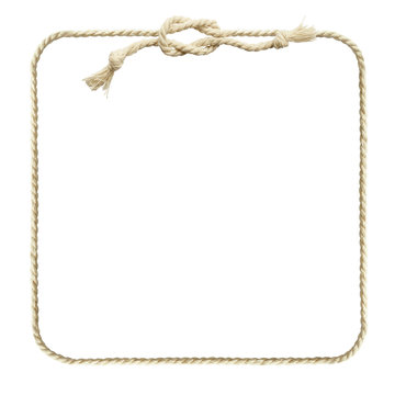 Square rope frame