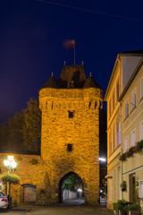 Ahrweiler, Obertor zur blauen Stunde