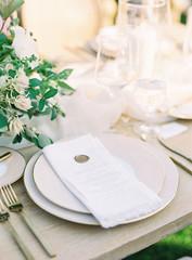 Romantic Wedding Details