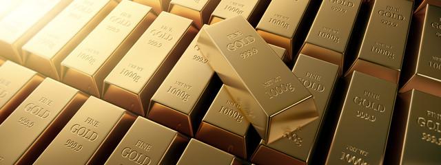 Goldbarren Querformat 4