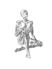 3D AI Dreaming Robot