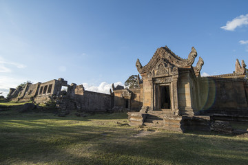 CAMBODIA SRA EM PRASAT PREAH VIHEAR KHMER TEMPLE