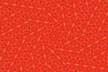 Organic abstract kaleidoscope pattern background