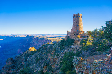 Grand Canyon Watchtower on Rim