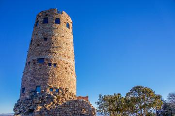 Morning Light Hits Desert Watchtower