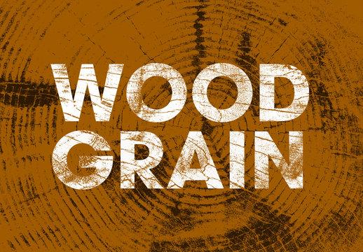 Wood Grain Textures Set
