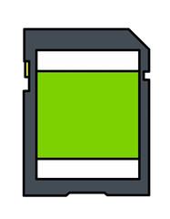 SDカード模様(緑)