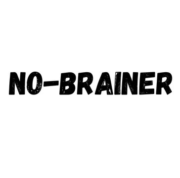no-brainer label , label