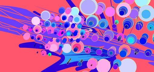 Papiers peints Art abstrait Fluid color background. Liquid shape . Eps10 vector.