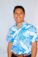 Congressional Candidate Kaniela Ing stands for a portrait during a campaign event in Honolulu