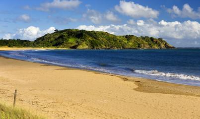 Beach at the Taipa Bay