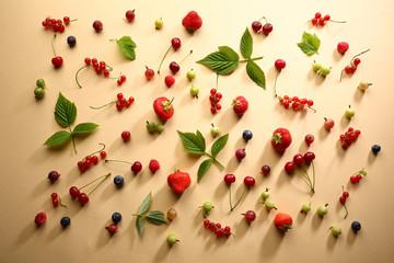 Summer berries pattern
