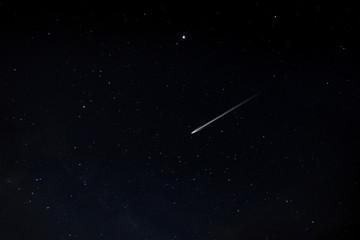 The star in dark night.