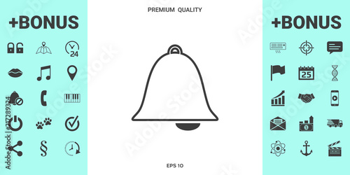 578a9d7941b9 Alarm bell icon