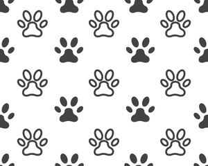 Paw icon vector illustration design