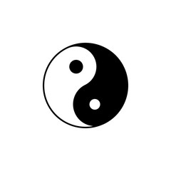Taoism Taijitu sign icon. Element of religion sign icon for mobile concept and web apps. Detailed Taoism Taijitu icon can be used for web and mobile
