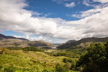 The beautiful scenery of the Ladies View, Killarney, co. Kerry, Ireland