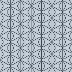Japanese star geometric pattern