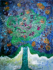 Dessin d'un arbre de vie fictif
