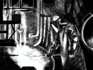 et le cuivre s'obtient en fondant de la roche - Job 28:2 - Bible